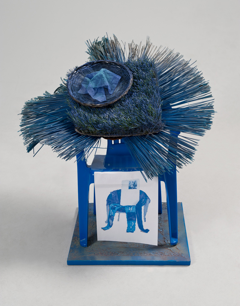 Untitled Chair #2 (Blue)